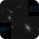 NGC 4747 / NGC 4725  interacting galaxies,                                sky-watcher (johny)