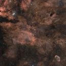 Cygnus Four Panel Mosaic in RGBHa,                                Alex Roberts