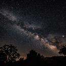 Milky Way at Dusk,                                  CupertinoSky