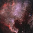 NGC 7000 HOO,                                  Mehdi Abed
