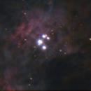 Lucky-Imaging of M42 - Trapezium region,                                ErklueAstro