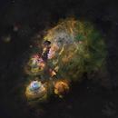 NGC6334 Cat's Paw Nebula in HST palette,                                John Ebersole