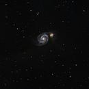 M51 under Bortle 8 skies,                                sirius_eclipse
