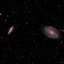 M81, M82 - LRGB,                                  Bradley Craig