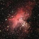 M 16 Nébuleuse de l'Aigle,                                  Roger Bertuli