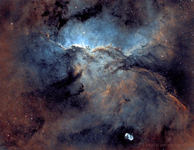 NGC 6188 Fighting Dragons of Ara Nebula,                                Ethan Wong