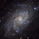 M33 - Triangulum Galaxy,                                VoidPointer