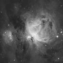M42 - The Orion Nebula In Hydrogen Alpha,                                James