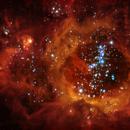 NGC 604 Nebula core in The Triangulum Galaxy,                                Rudy Pohl