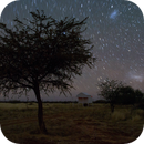 Nightscape under Tivoli's sky in Namibia - LMC,                                Thorsten