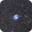 M27 (Dumbbell Nebula) LRGB + Ha-OIII,                                José Manuel Taverner Torres