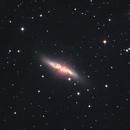 M82 L RGB Ha,                                Станция Албирео