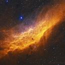 NGC 1499 California Nebula,                                Pleiades Astropho...