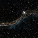 NGC 6960 / 52 Cygni - Western Veil Nebula (partial),                                Falk Schiel