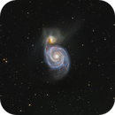 M51... A Detailed Whirlpool,                                John Hayes