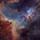 Heart of the Heart Nebula - Melotte 15 - SHO,                                Nico Carver