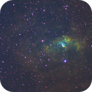 Bubble nebula C11,                                Justin Daniel