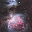 M42: The Great Orion Nebula,                                Toshiya Arai