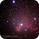 Flame Nebula NGC2024 and Horsehead Nebula IC434 in the constellation Orion,                                Hans-Peter Olschewski