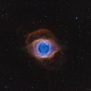 NGC7293 Helix Nebula in SHOLRGB,                                samlising