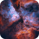 Carina Nebula NGC-3372,                                EmuHead