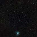 Iris nebula at 420mm with a SAM,                                Enol Matilla