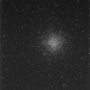 M55 globular cluster, survey image,                                erdmanpe