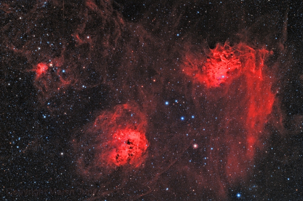 IC 405 Flaming Star Nebula and Friends (Theli v1),                                Martin Junius