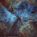 Carina Nebula ( Narrow band HST),                                Uri Abraham