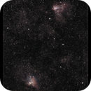 The Swan and Eagle Nebulae,                                William Maxwell