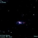 Bug Nebula NGC 6302,                                RCompassi