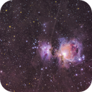 Orion, Running Man, Flame and Horsehead Nebulae and the surrounding Dust in Orion constellation,                                Avinash Singh
