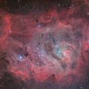 Messier 8 - Lagoon Nebula,                                Riccardo Balia