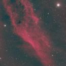 California Nebula -- Narrowband Natural Colors,                                Richard Beck