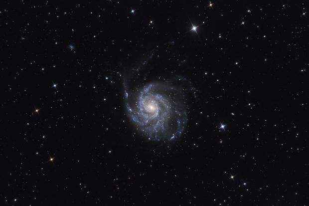 Messier 101 - Pinwheel galaxy,                                Péter Feltóti