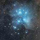 M45 Les Pléiades,                                LAMAGAT Frederic