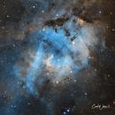 Sh2-132,                                Carl Weber
