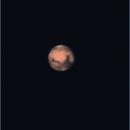 Mars on the 7th of May from my Milan balcony observatory,                                Pierfrancesco Labozzetta