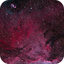 An Egg in the Dragon's Nest - NGC6164 & NGC6188 2 frame pano,                                TWFowler