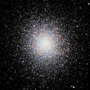 M13 First Esprit 150 Image, NGC 6205, IC 4617,                                wileyglance