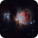 M42 and the Running Man reworked,                                Patrick Graham