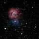 M20 Triffid Nebula,                                JKnight