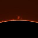 Sol in H⍺ - 09 June 2021 - detached prominence.,                                hughsie