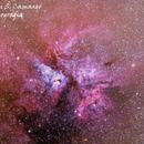 Carina Nebula,                                Valdinei S. Camargo