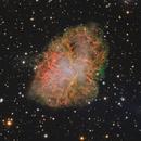 M1 - RGB, HaRGB + pulsar animation,                                xordi