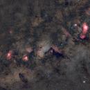 Some Messiers, in HaLRGB,                                TC_Fenua