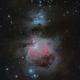 Messier 42/43 und NGC1977,                                Michael Schröder