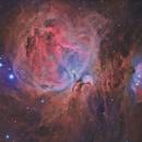 M42 - The great Orion Nebula,                                Carlos Burkhalter