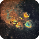 Cat's Paw Nebula NGC6334,                                Jonathan Durand