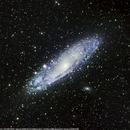 Andromeda Galaxy,                                Yassir Lairgi